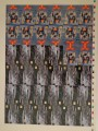 Star Trek Master Series Part Two Trading Card Uncut Promo Sheet 1