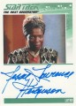 The Complete Star Trek The Next Generation Series 1 Trading Card Autograph Jessie Lawrence Ferguson