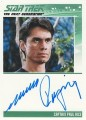The Complete Star Trek The Next Generation Series 1 Trading Card Autograph Marco Rodriguez