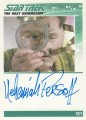 The Complete Star Trek The Next Generation Series 1 Trading Card Autograph Nehemiah Persoff