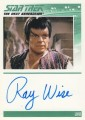 The Complete Star Trek The Next Generation Series 1 Trading Card Autograph Ray Wise