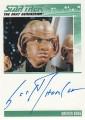 The Complete Star Trek The Next Generation Series 1 Trading Card Autograph Scott Thompson