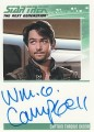 The Complete Star Trek The Next Generation Series 1 Trading Card Autograph William O Campbell