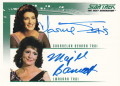 The Quotable Star Trek The Next Generation Trading Card Autograph Marina Sirtis Majel Barrett