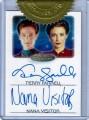 The Women of Star Trek Trading Card Autograph Terry Farrell Nana Visitor