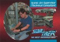 Star Trek The Next Generation Behind The Scenes Trading Card BTS4