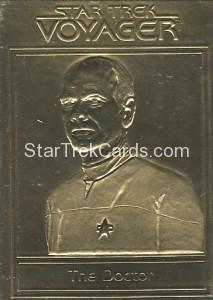 Star Trek Gold Sculptured Cards The Doctor