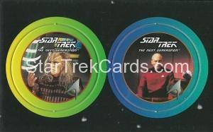 Star Trek The Next Generation Stardiscs Trading Card 19