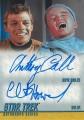 Star Trek The Original Series Heroes and Villains Trading Card DA21
