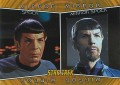 Star Trek The Original Series Heroes and Villains Trading Card MM2