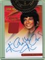 Star Trek The Original Series Heroes and Villains Trading Card Nichelle Nichols Autograph Costume