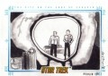 Star Trek The Original Series Art Images Trading Card Sketch The City on The Edge of Forever
