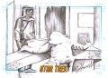 Star Trek The Original Series Art Images Trading Card Sketch The Naked Time