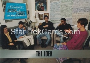 The Making of Star Trek The Next Generation Trading Card 1
