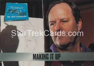 The Making of Star Trek The Next Generation Trading Card 33