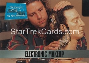 The Making of Star Trek The Next Generation Trading Card 35