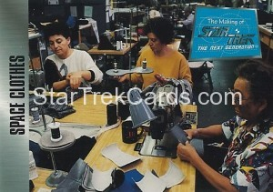 The Making of Star Trek The Next Generation Trading Card 42