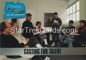 The Making of Star Trek The Next Generation Trading Card 5