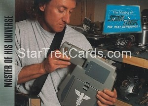 The Making of Star Trek The Next Generation Trading Card 52