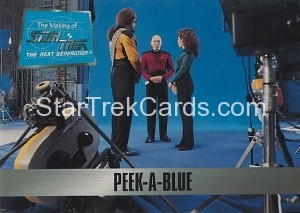 The Making of Star Trek The Next Generation Trading Card 68