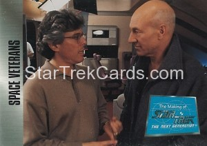 The Making of Star Trek The Next Generation Trading Card 72