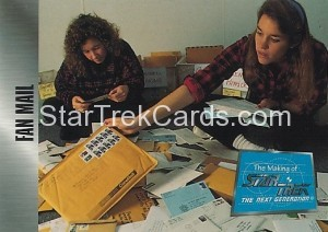 The Making of Star Trek The Next Generation Trading Card 80