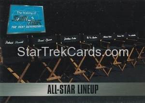 The Making of Star Trek The Next Generation Trading Card 81