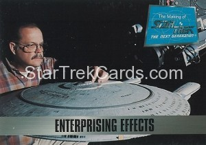 The Making of Star Trek The Next Generation Trading Card 86