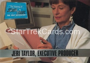 The Making of Star Trek The Next Generation Trading Card 9