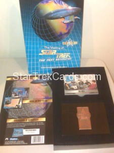 The Making of Star Trek The Next Generation Trading Card Gold Edition Alternate
