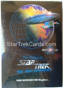 The Making of Star Trek The Next Generation Trading Card Platinum Edition