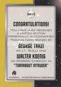 Star Trek The Remastered Original Series DA13 Back