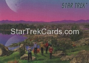 Star Trek The Remastered Original Series Trading Card 50
