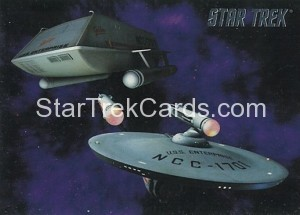 Star Trek The Remastered Original Series Trading Card 81