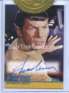 Star Trek The Remastered Original Series Trading Card A200