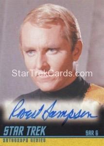 Star Trek The Remastered Original Series Trading Card A240