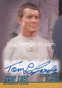 Star Trek The Remastered Original Series Trading Card A252