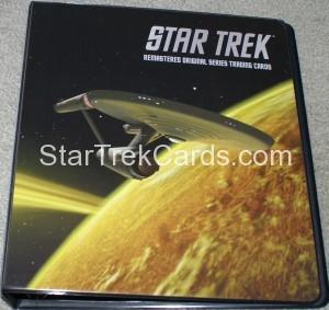 Star Trek The Remastered Original Series Trading Card Binder