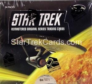 Star Trek The Remastered Original Series Trading Card Box