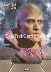 Star Trek The Remastered Original Series Trading Card C4