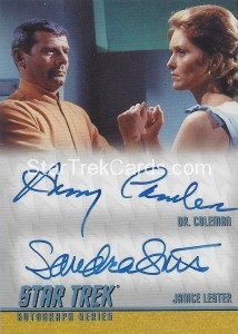 Star Trek The Remastered Original Series Trading Card DA10