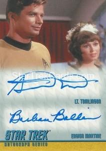 Star Trek The Remastered Original Series Trading Card DA12
