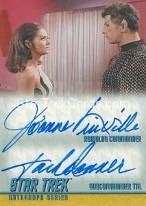 Star Trek The Remastered Original Series Trading Card DA17