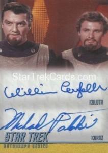 Star Trek The Remastered Original Series Trading Card DA3