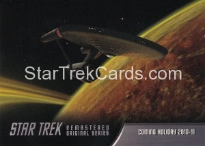 Star Trek The Remastered Original Series Trading Card P1