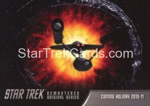 Star Trek The Remastered Original Series Trading Card P4