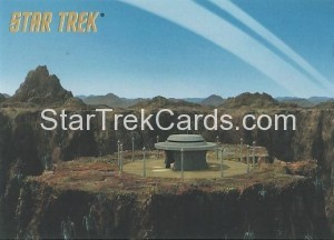 Star Trek The Remastered Original Series Trading Card Parallel 11