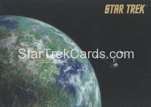 Star Trek The Remastered Original Series Trading Card Parallel 17