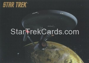 Star Trek The Remastered Original Series Trading Card Parallel 18