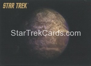 Star Trek The Remastered Original Series Trading Card Parallel 28